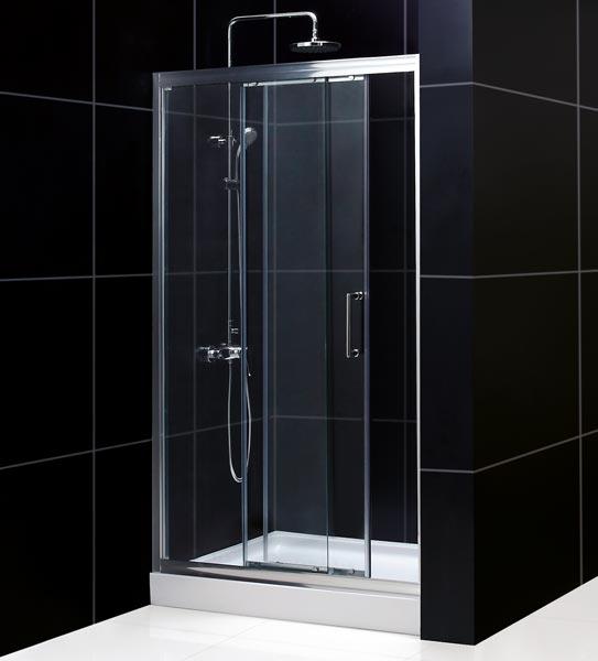 Illusion Frameless Sliding Shower Door Dreamline Bathroom Shower
