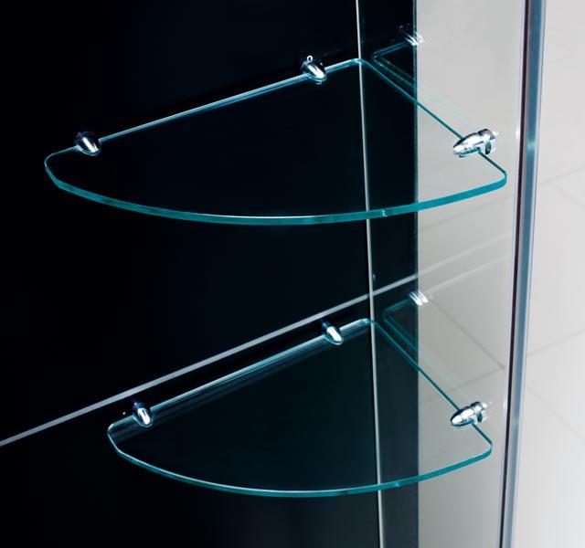 ... Mirage Shower Door Glass Shelves ...