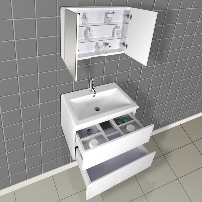Modern Bathroom Vanity Dlvrb 104 - Contemporary-bathroom-vanities-from-dreamline