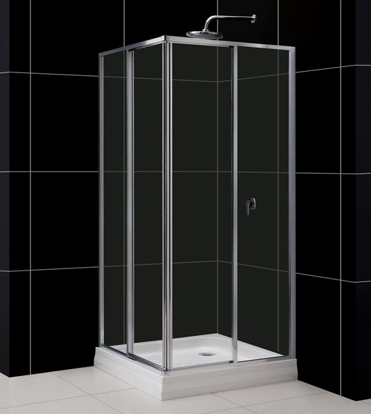 Corner Shower Enclosure Kits SECTOR CLEAR GLASS ENCLOSURE