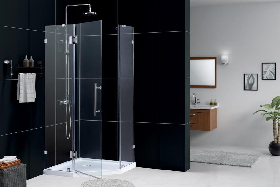 DreamLine Showers NeoLUX Low Profile Shower Enclosure Tray