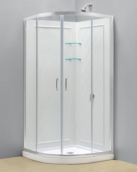 Round Shower Stall Kits Submited Images