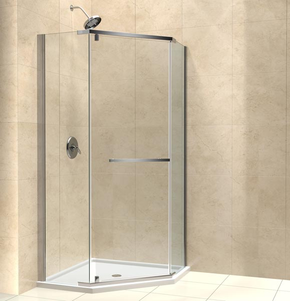 PRISM Shower Enclosure W Low Profile Tray Images Frompo