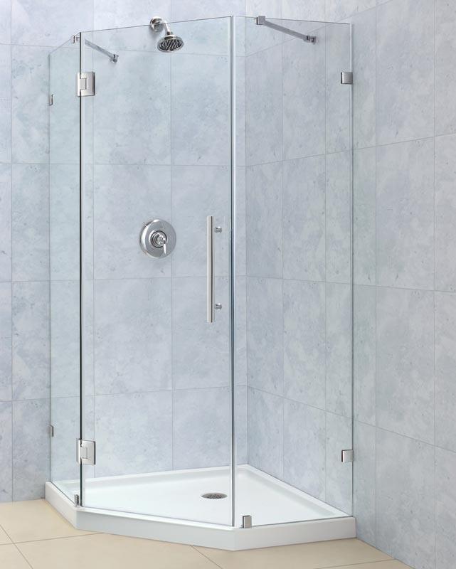 Dreamline Showers Prismlux Hinged Shower Enclosure