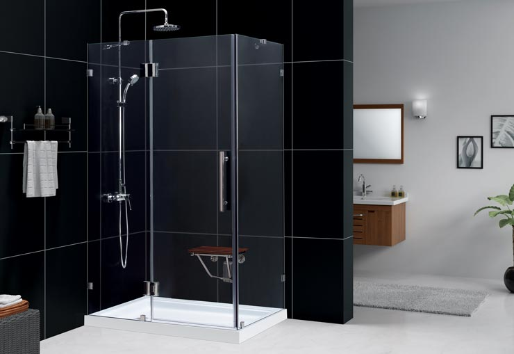 Shower Enclosure Kits with Seats
