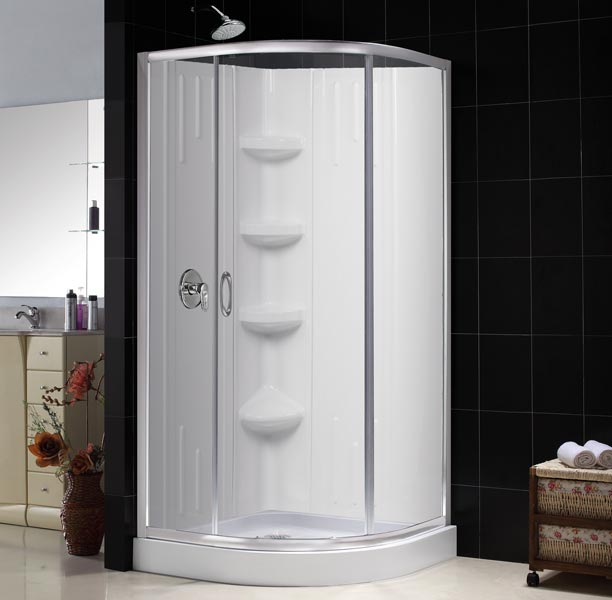 sparkle shower enclosure base backwall kit