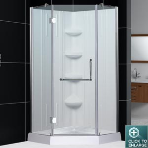 NEO Shower Enclosure with QWALL-2 Backwall