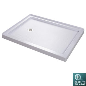 Left Hand Drain Low Profile Base