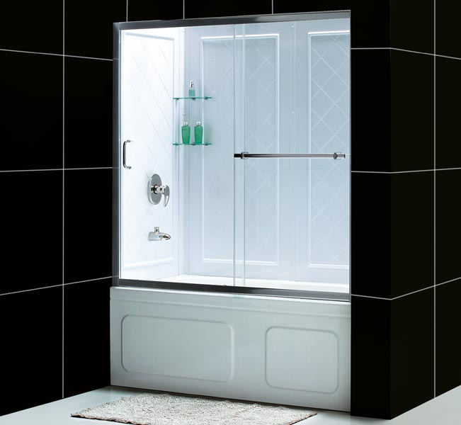 Shower Kits. Shower Backwalls & Tray Combos Tub to Shower Conversion ...