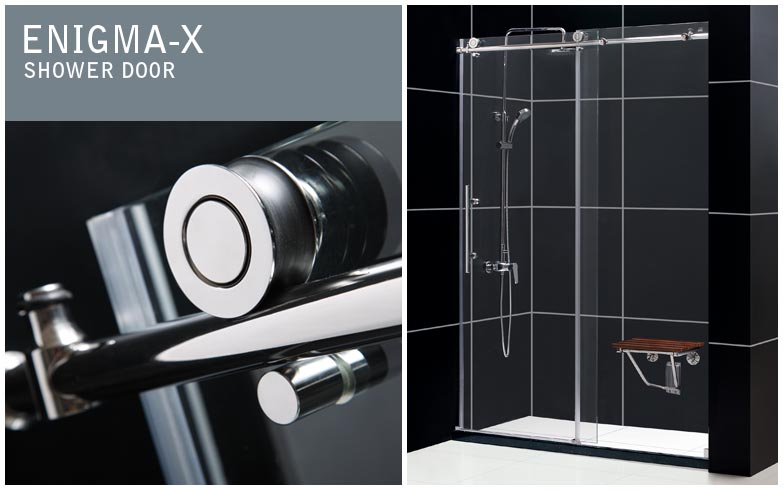 ENIGMA-X SLIDING SHOWER DOOR