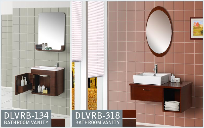 MODERN BATHROOM VANITIES DLVRB-318 AND DLVRB-134