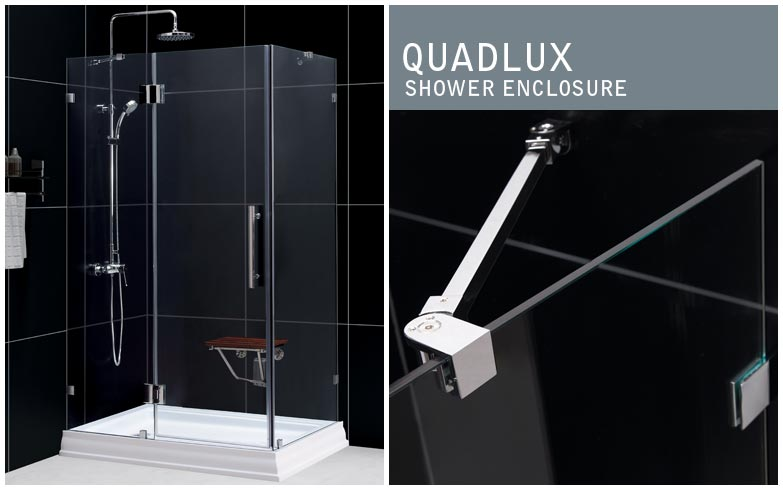 QUADLUX Shower Enclosure