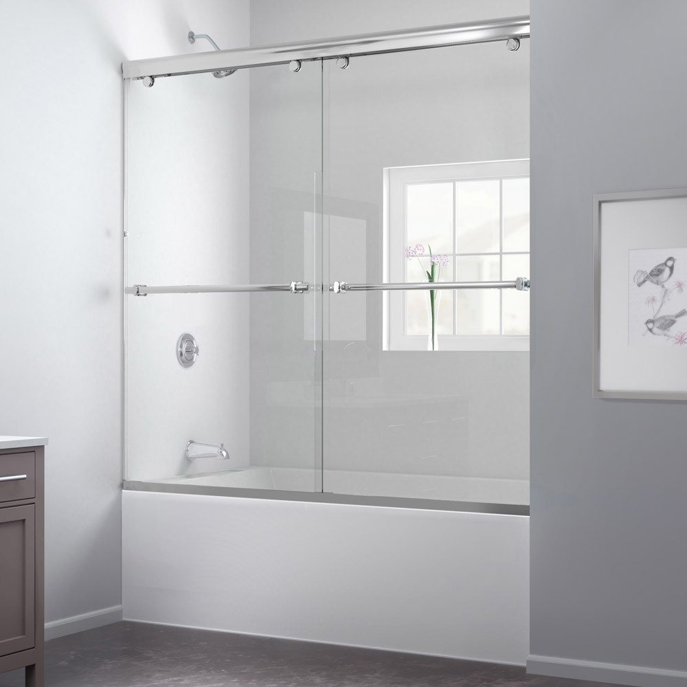 Shower door dreamline bathroom shower doors frameless glass shower - Charisma