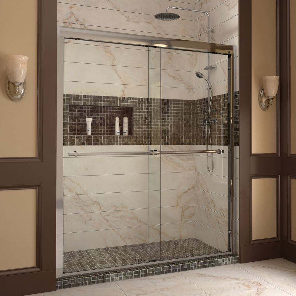 Shower doors sliding shower doors swing shower doors for Bathroom entrance doors