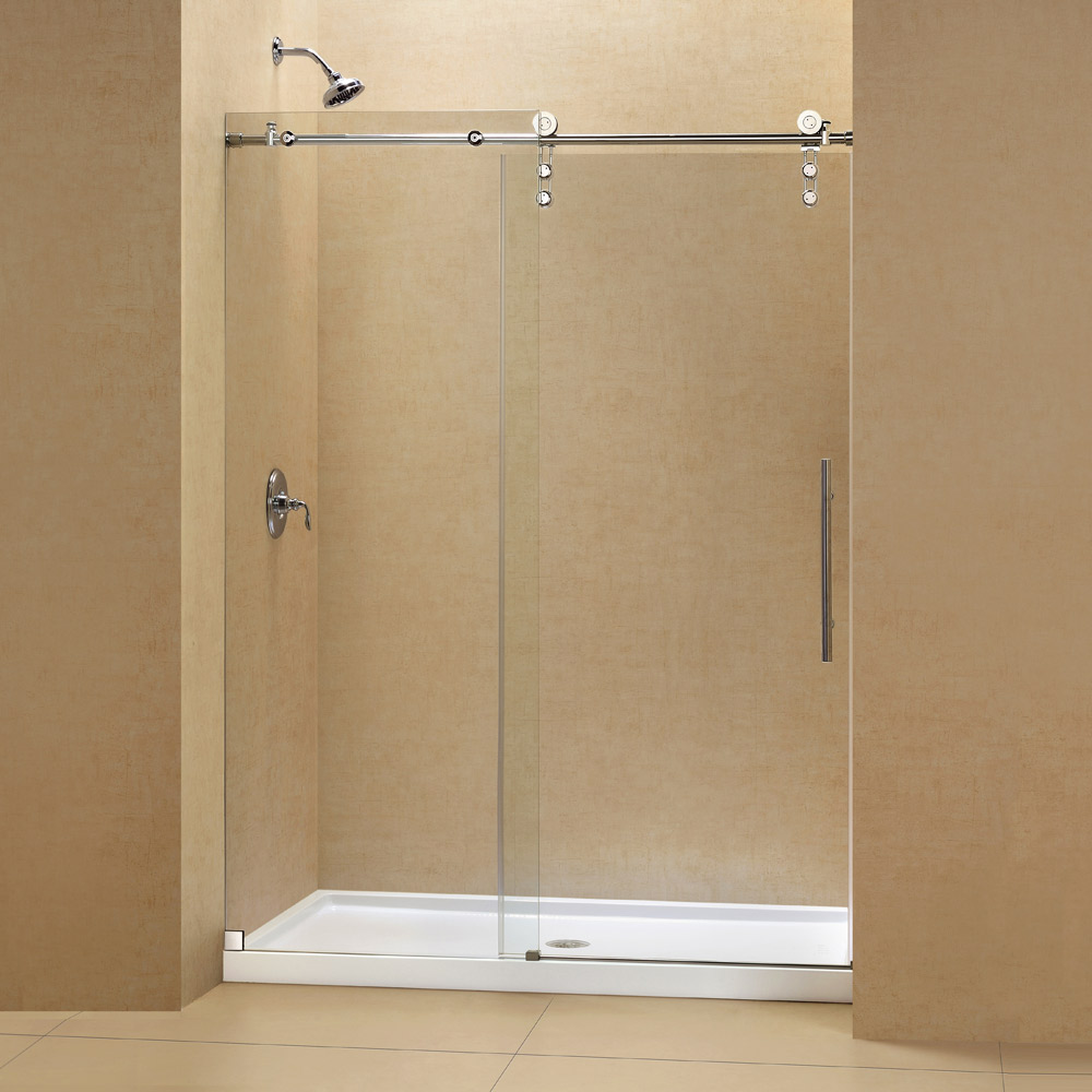 Shower door base kits tub replacement kits tub for Bathroom entrance doors