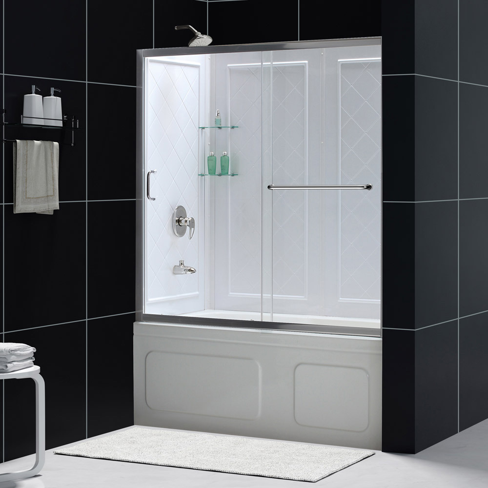 infinityz tub door - Bathtub Shower Doors