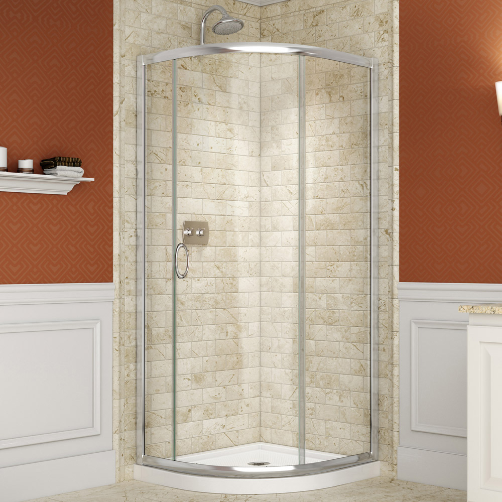 small corner shower kit. Solo SHOWER ENCLOSURES