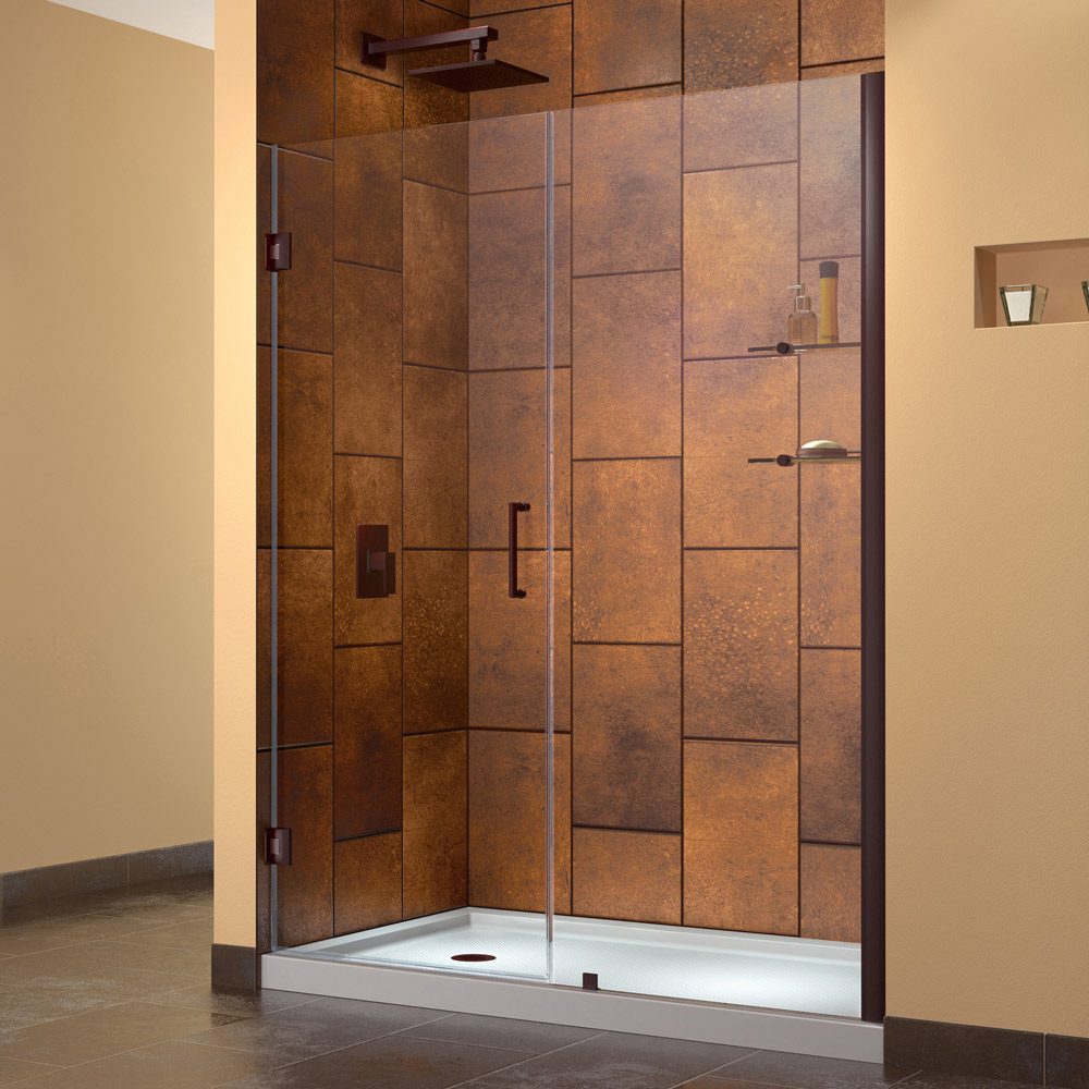 Shower doors sliding shower doors swing shower doors hinged unidoor planetlyrics Image collections