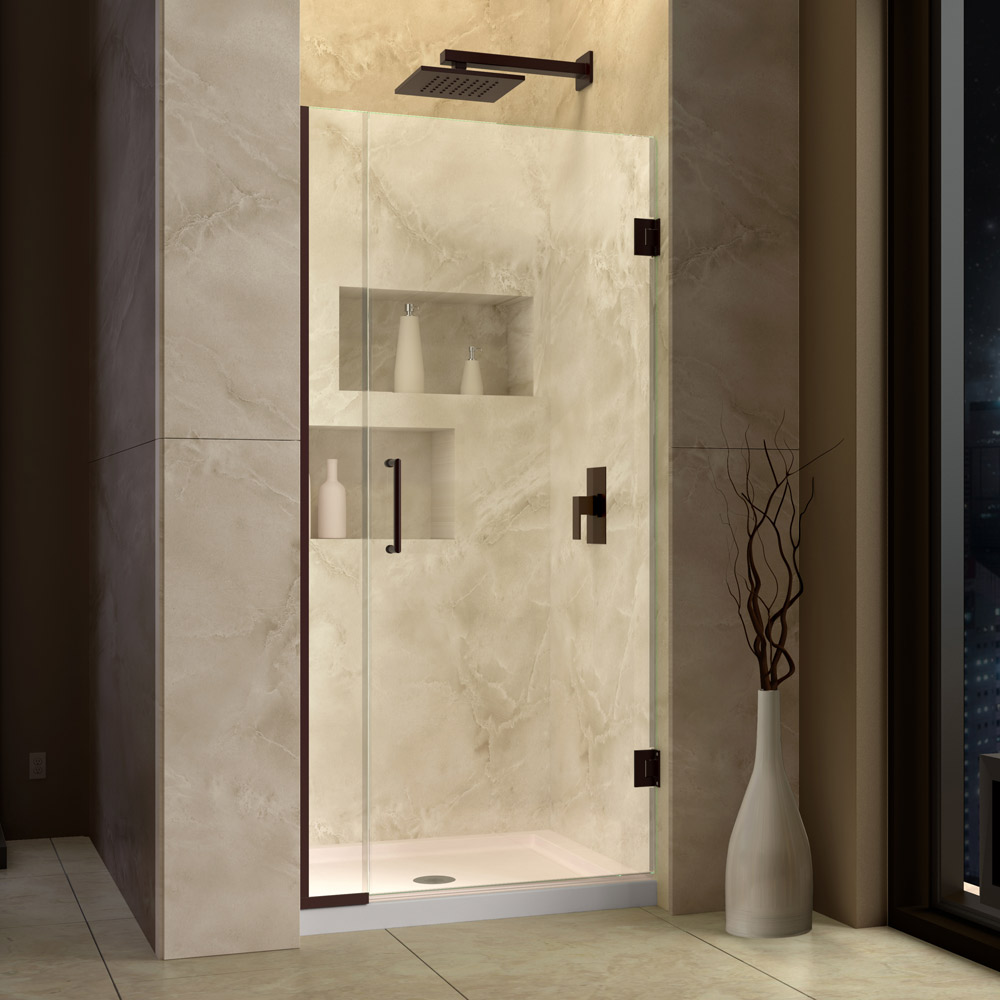 Unidoor Plus & SHOWER DOORS Sliding Shower doors Swing Shower Doors Hinged ...