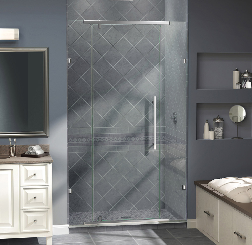 Shower door dreamline bathroom shower doors frameless glass shower - Vitreo