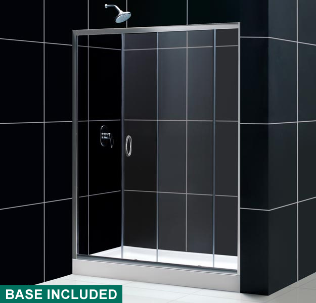 Infinity Shower Door Amp Base Combo