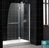 Aqua Shower Door (Chrome Finish)