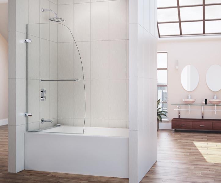 DreamLine Showers Aqua Uno Hinged Tub Door