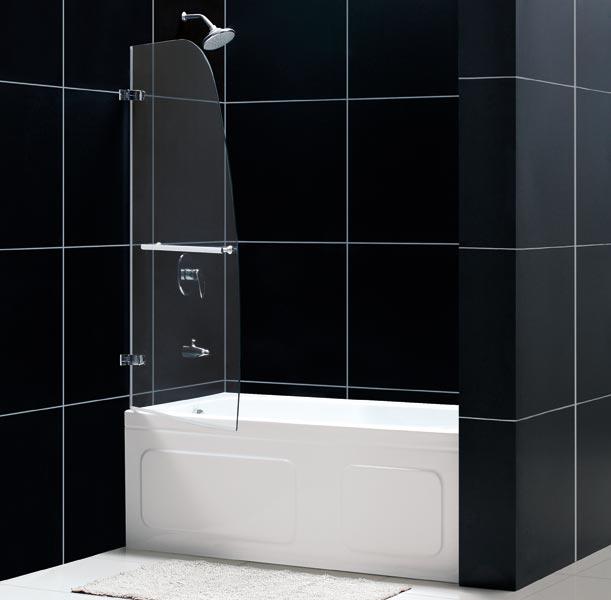 Aqua Uno Hinged Tub Door