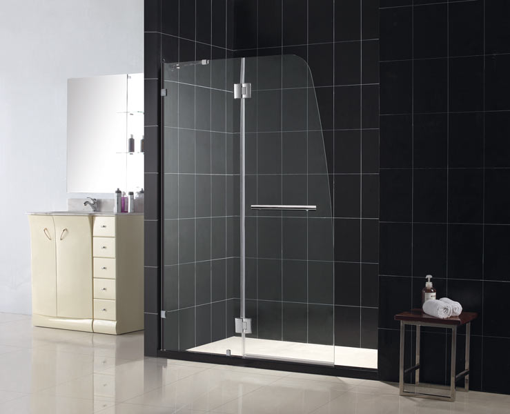 Aqualux Hinged Shower Door