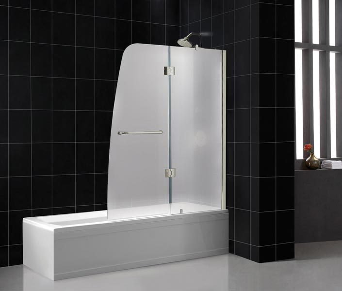 with frameless ll aqua doors shower semi improvement you bathtub tub wayfair x love home door hinged