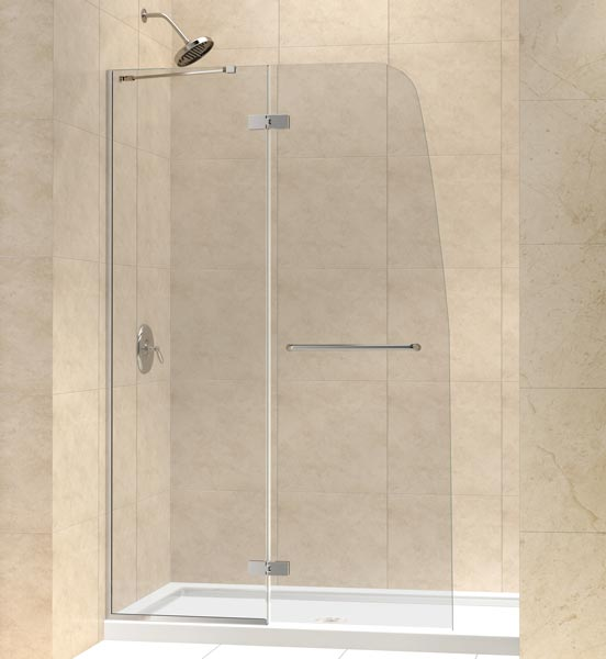 Dreamline Showers Aqua Ultra Hinged Shower Door