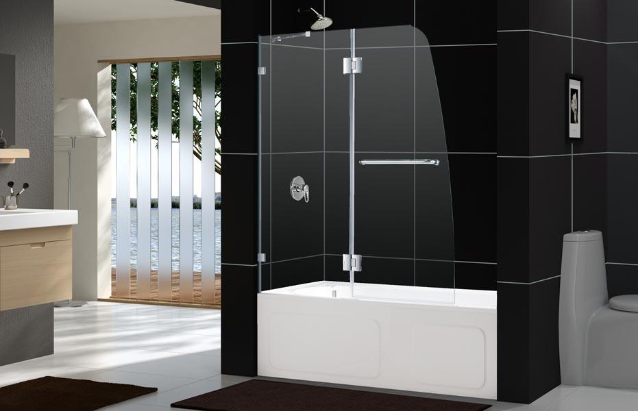 Dreamline Showers Aqualux Hinged Shower Door
