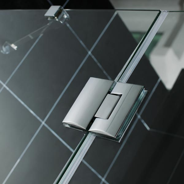 shower door open aqua plus door hinge u0026 glass support