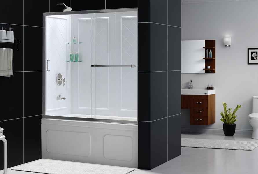 Glass sliding bathtub doors in Plumbing Supplies - Compare Prices