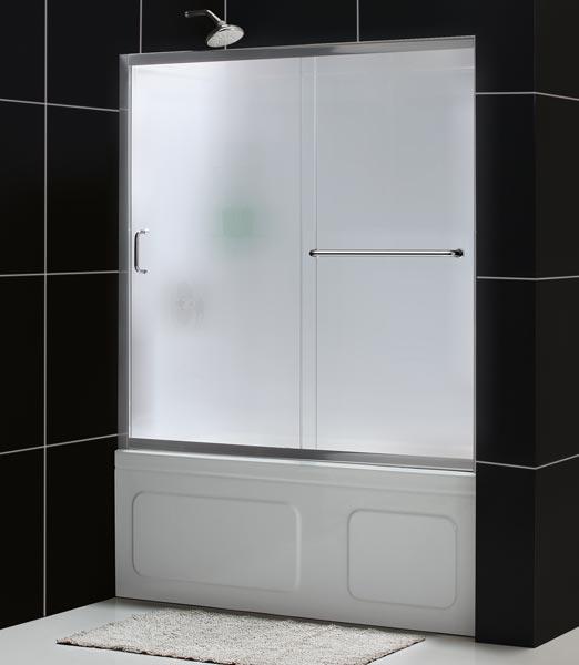 Infinity Z Sliding Tub Door And Qwall Tub Kit