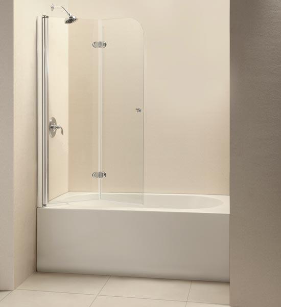 Dreamline Showers Ez Fold Hinged Tub Door