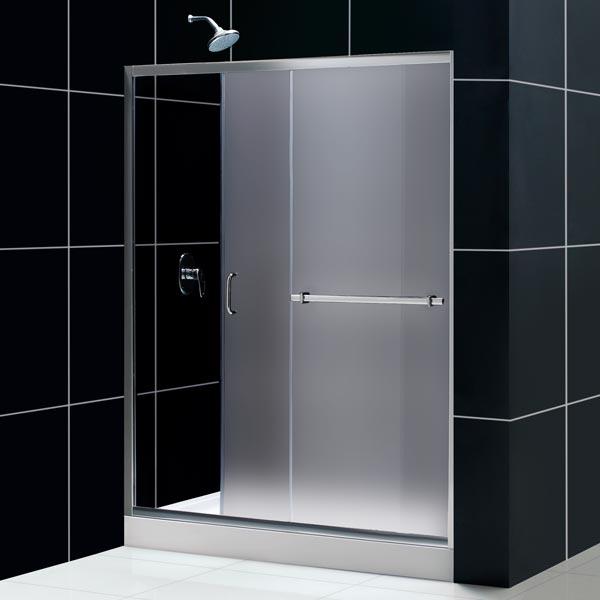 Infinity Plus Sliding Tub Door Glass Tub Door From