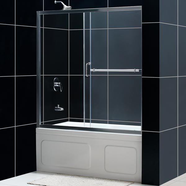 DreamLine Showers| Infinity Plus Sliding Tub Door. Glass Tub Door ...