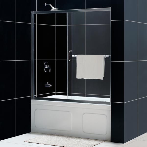 sliding shower door glass shower door from dreamline 60 shower door