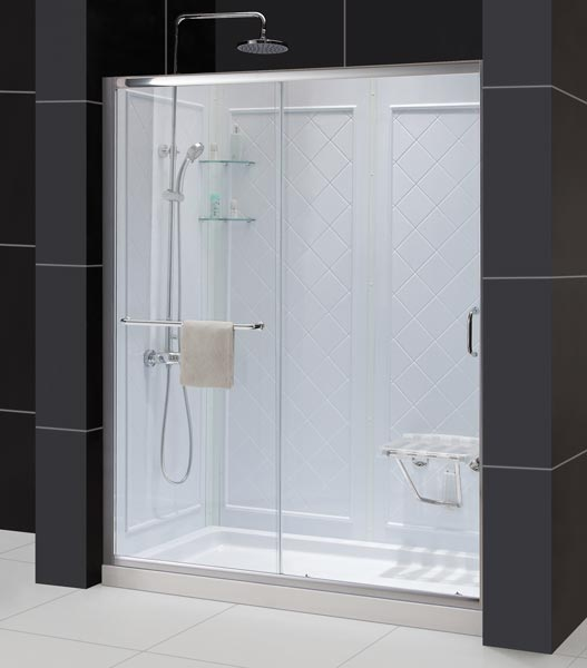 Dreamline Showers Infinity Z Sliding Shower Door