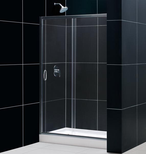 Infinity Sliding Shower Door Glass Shower Door From