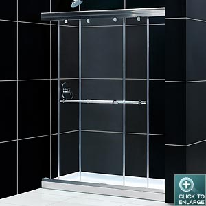 CHARISMA Frameless Sliding ByPass Shower Door