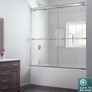 CHARISMA Frameless Sliding ByPass Tub Door