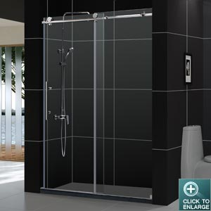 "ENIGMA 48"" Sliding Shower Door"