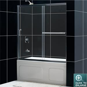 Infinity Plus Tub Door (Chrome Finish)