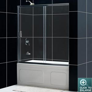 Infinity Tub Door (Chrome Finish)