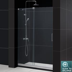 Beautiful Glass Sliding Shower Doors Frameless Door O Inside Ideas