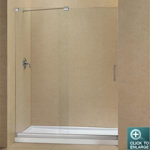 Us Home Showers Shower Door Base Kits Mirage Shower Door