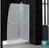 AMAZON BASE w/ AQUA Dhower Door (Frosted Glass)
