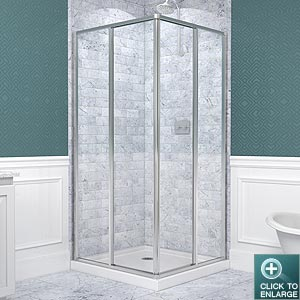 CORNERVIEW Shower Enclosure